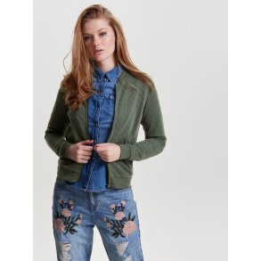JOYCE, bomber sweatshirt, laurel wreath